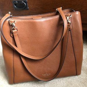 Kate Spade soft pebbled leather shoulder bag
